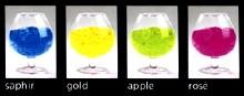 Saphir | Gold | Apple | Rose.