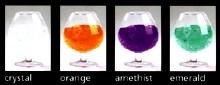 Christal | Orange | Amethist | Emerald.